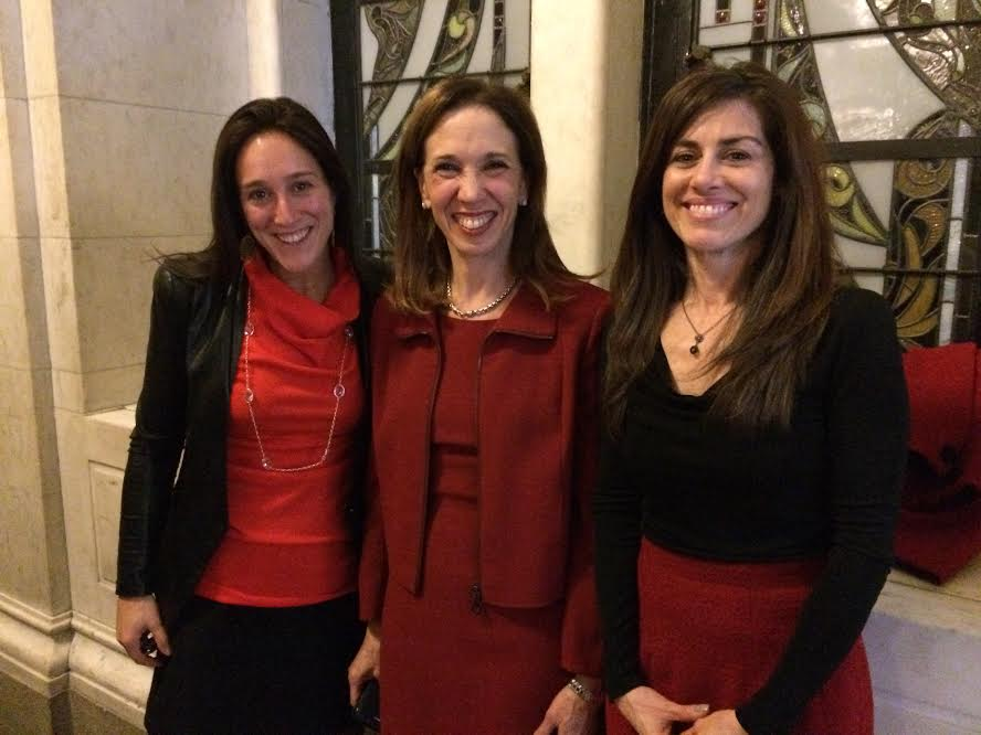 Amy with Lauren Hersh from Sanctuary for Families and Sonia Ossorio, Pres. of NOW New York State. They joined her in Albany on March 16 when the TVPJA was passed by the Assembly.