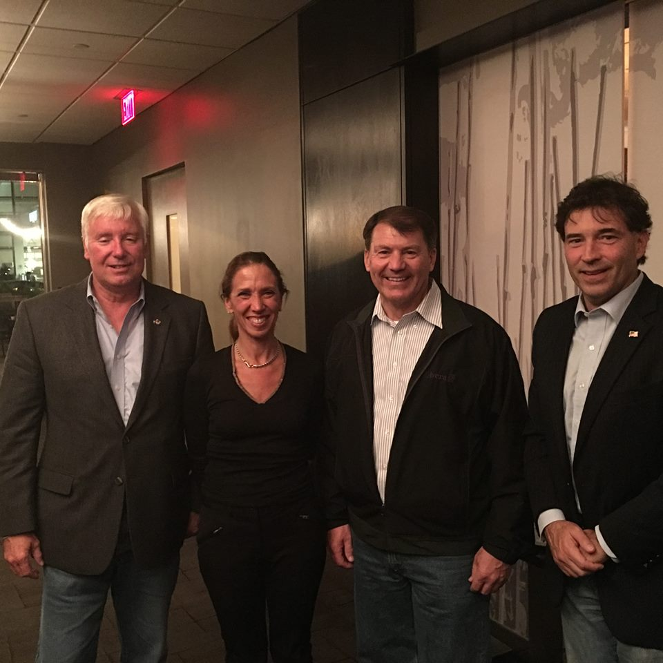 Assemblywoman Amy Paulin attended an energy conference in Washington, DC with members of the Ohio legislature, Troy Balderson and Al Landis and a special guest, Senator Mike Rounds.
