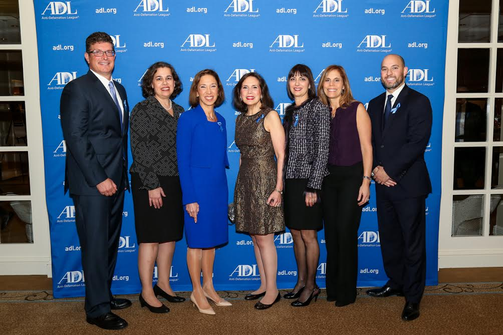 Assemblywoman Amy Paulin attended the annual Anti-Defamation League dinner recently.