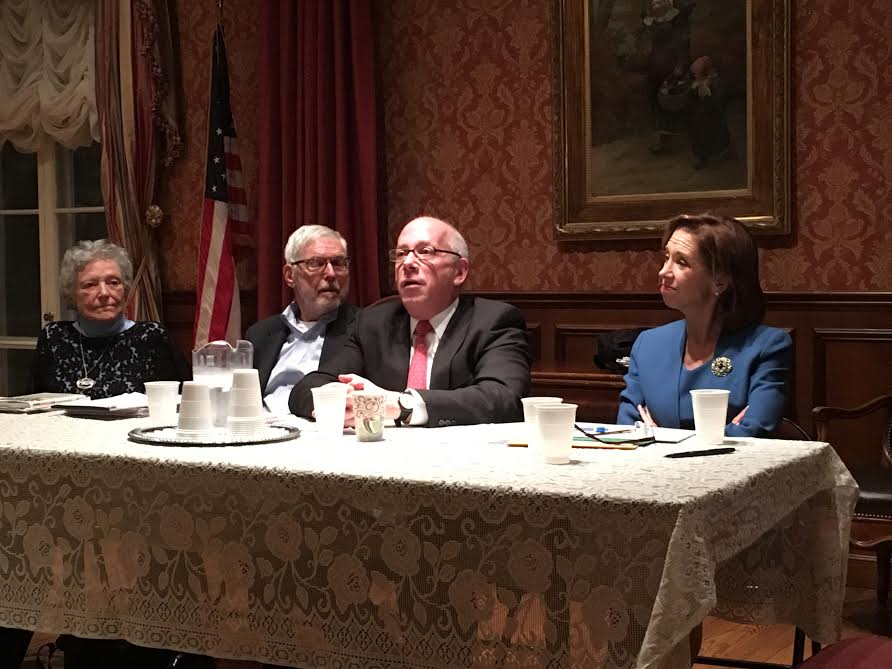 Assemblywoman Amy Paulin hosted a forum on Aid in Dying at the Scarsdale Woman's Club on Feb. 4 to discuss legislation she authored. There were more than 60 participants in the two-hour event.