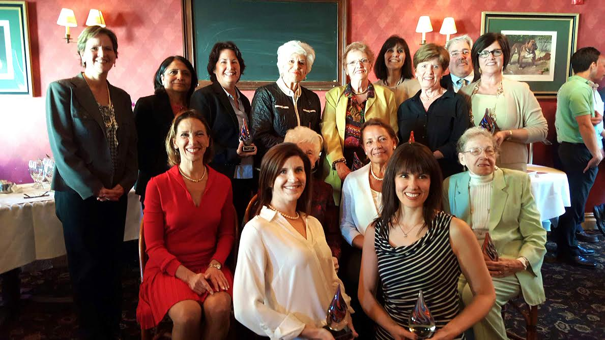 Assemblywoman Amy Paulin handed out her Tuckahoe Women of Distinction Awards during an April 17 reception at the Tap House in Tuckahoe. Susan Ciamarra, Fay Blasi, Alice White, Swadesh Pachnanda, Stephanie Rusnak, Nicole Pushkal, Janna Coneybeare, Karen Kelly, Clare Gorman, Patricia Morgan, Sheila Clarke and Camille DiSalvo were honored.