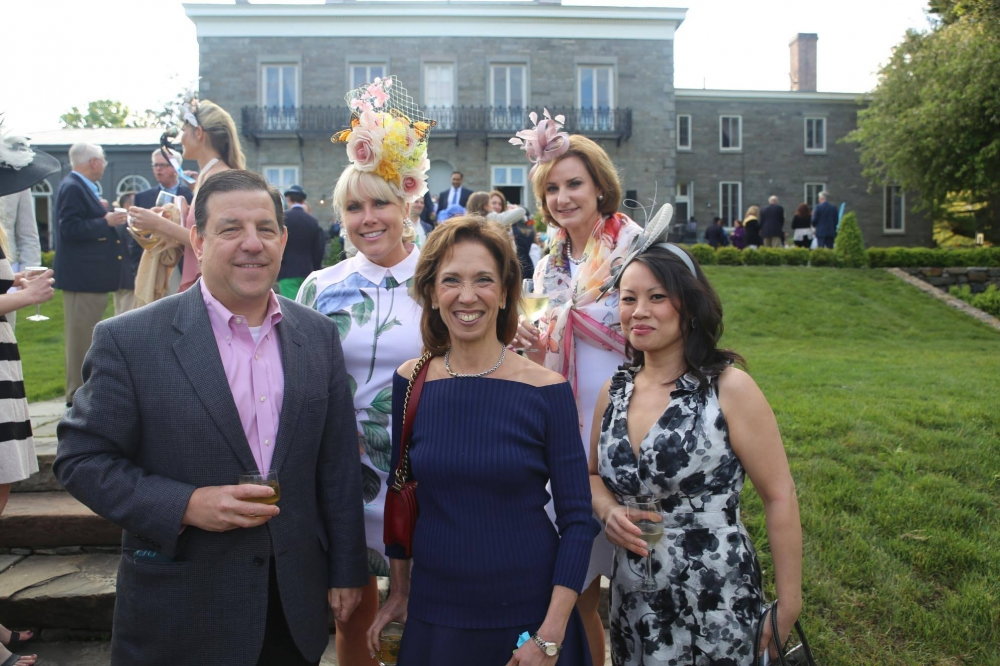 Assemblywoman Amy Paulin attended a Kentucky Derby party at The Bartow-Pell Mansion Museum in Pelham Bay Park.