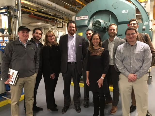 Assemblywoman Amy Paulin, the chair of the New York State Energy Committee, went to Avalon Bay Fort Greene in Brooklyn to learn about combined heat and power systems. <br />