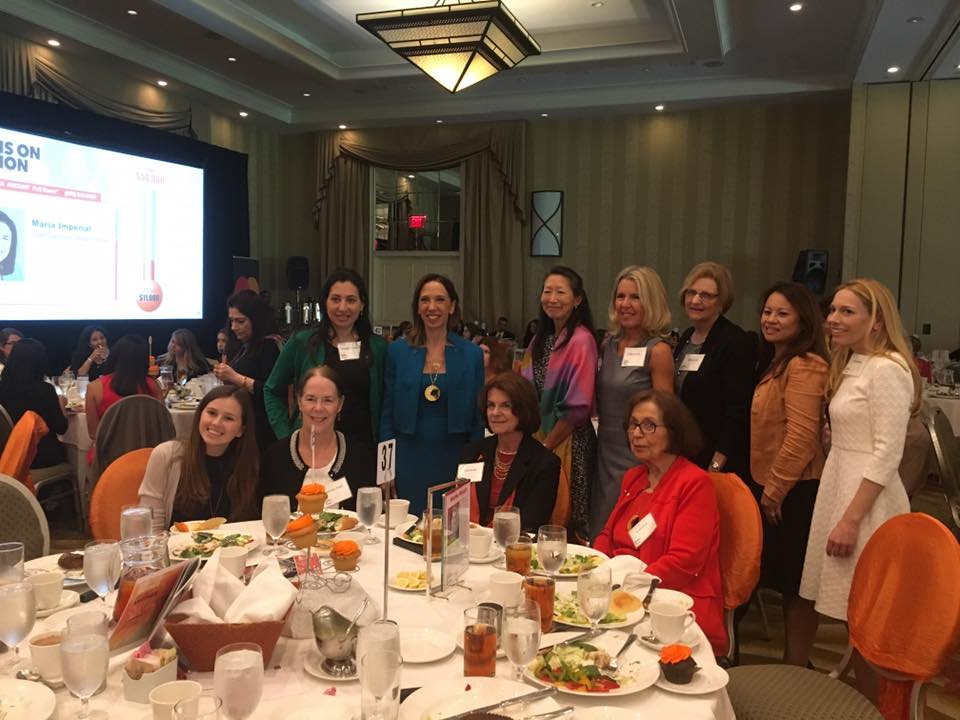 Assemblywoman Paulin was proud to have her current and former staff members with her as she was inducted into The Westchester Women's Hall of Fame.<br />