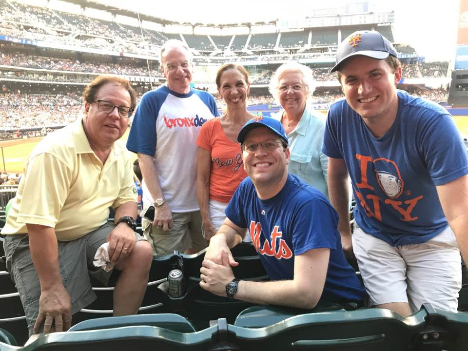 Assemblywoman Amy Paulin and several of her fellow Assembly members went to Citi Field to watch the Mets play the Cardinals.<br />