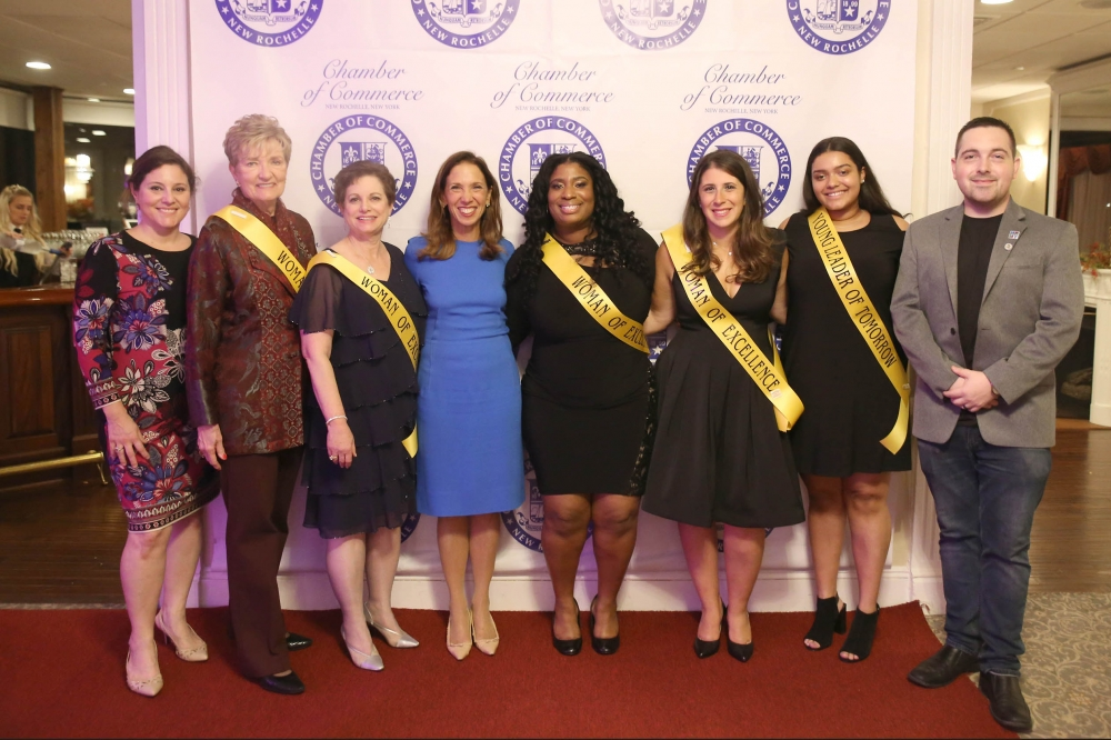 Assemblywoman Amy Paulin attended the New Rochelle Chamber of Commerce Women of Excellence Dinner on Nov. 2.<br />