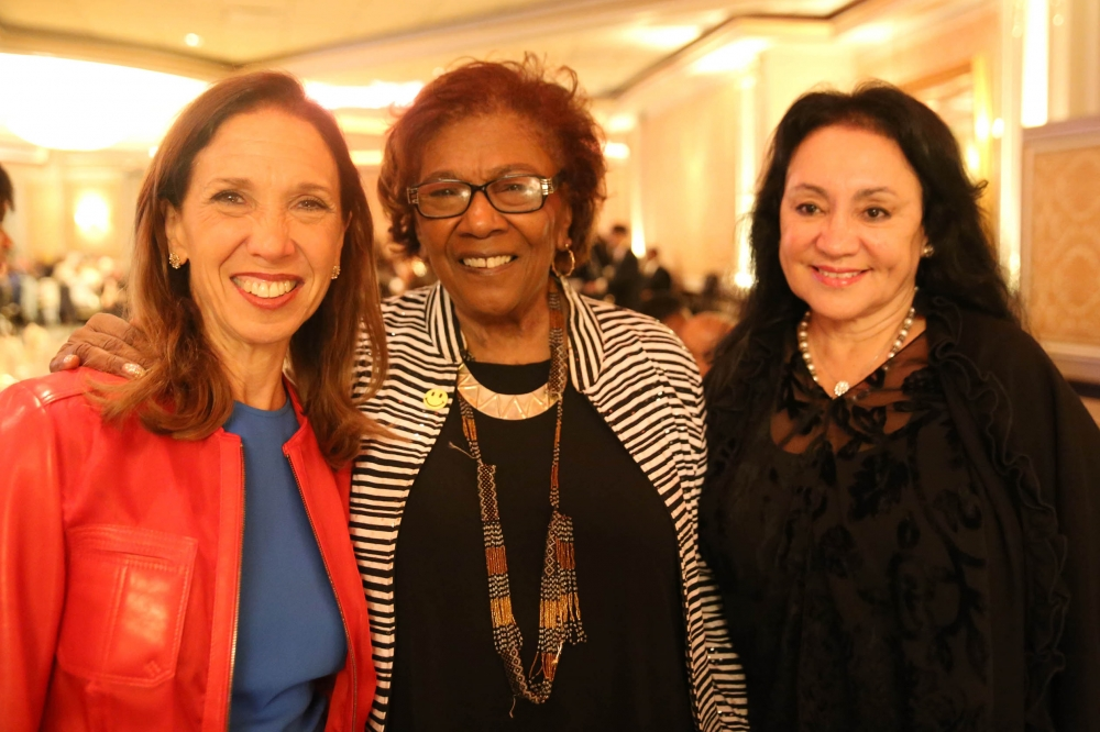 "Assemblywoman Amy Paulin went to the It Takes A Village To Educate a Child ""Dancing With Our Stars' Gala on Nov. 2. NYS Board of Regents Chancellor Dr. Betty Rosa (r.) was among those honored. Regent Judith Johnson (c.) also attended."