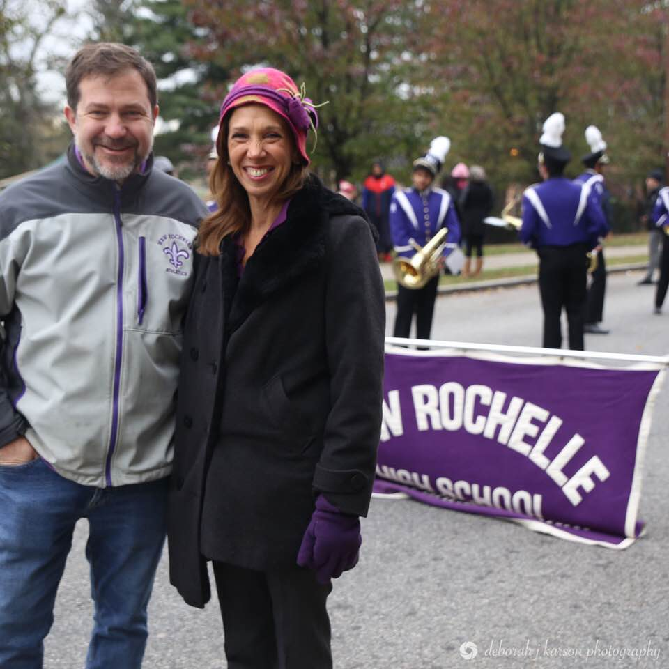Assemblywoman Amy Paulin attended the New Rochelle Thanksgiving Parade on Nov. 18.<br />&nbsp;