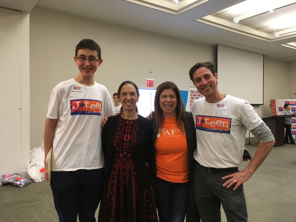 Assemblywoman Amy Paulin was part of the J-Teen Leadership MLK Day of Service. There were 300 interfaith teens on hand who helped pack two truckloads of medical supplies that will be donated to help victims of Hurricane Maria.&nbsp;<br />&nbsp;