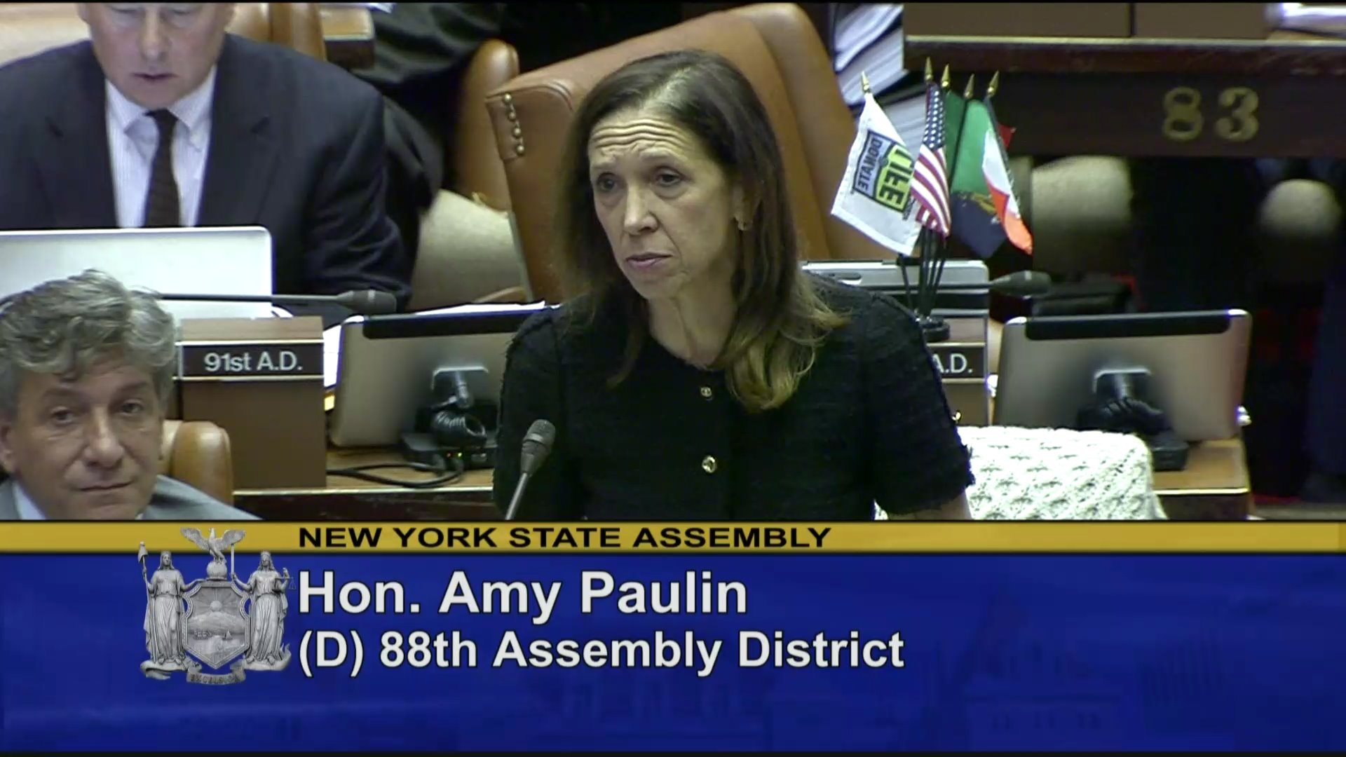 Paulin Champions Legislation to Stop Sex Trafficking