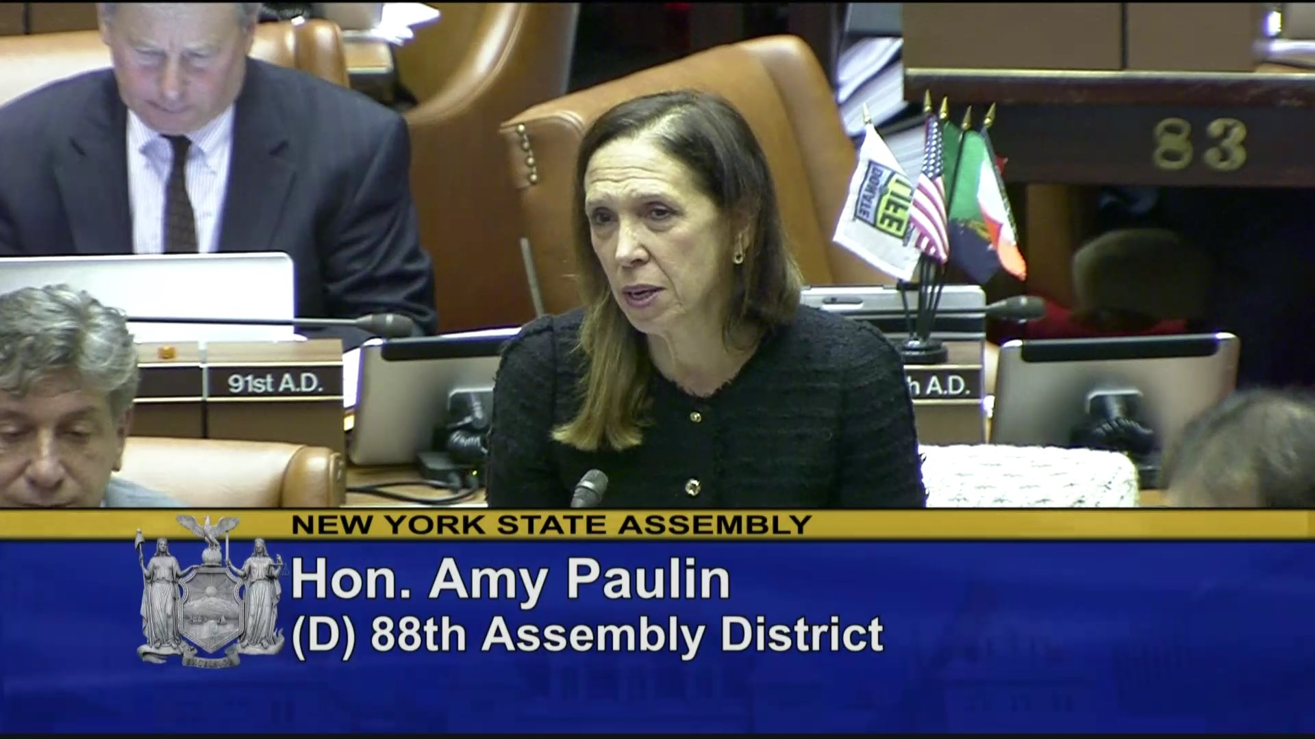 Paulin Highlights the Majority's Leadership in Ending Sex Trafficking