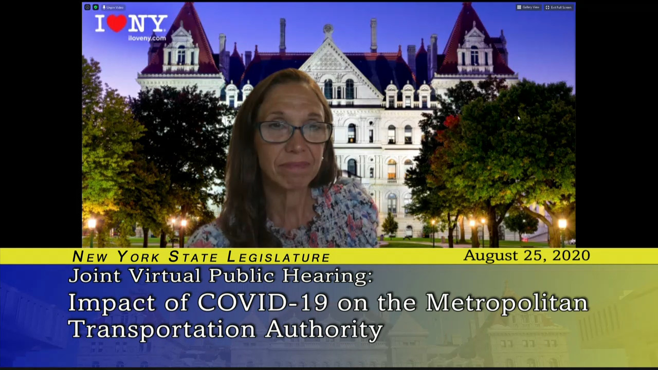 Paulin Questions Public Transportation Advocates about COVID-19 Impact on MTA