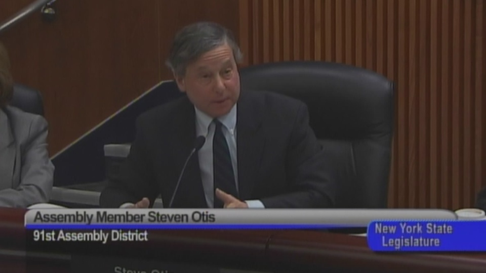 Otis Questions DEC Chief on Mandated Sewer Costs