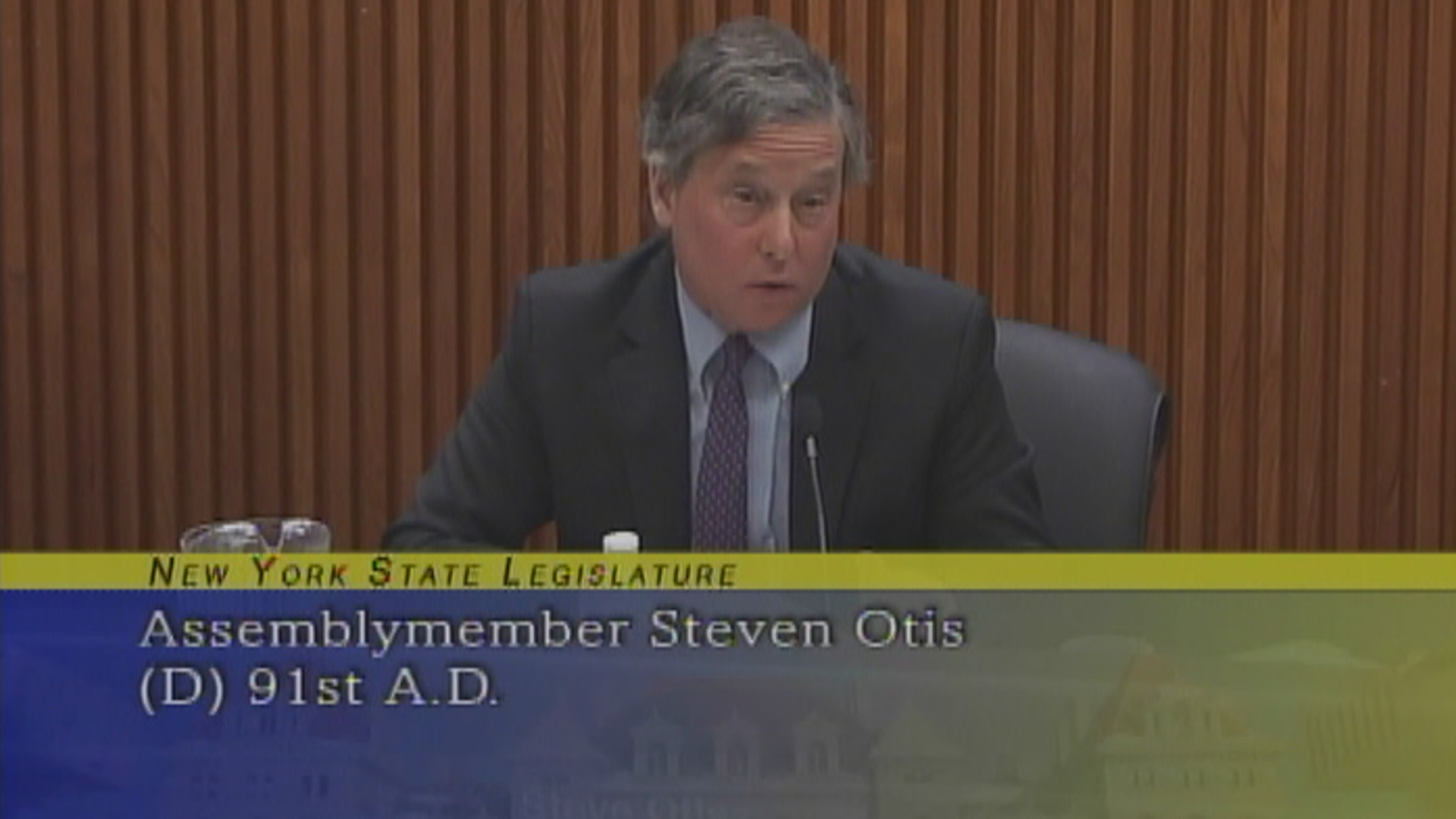 Otis questions the NYS Thruway Director on speeding and toll collection along the I-95 corridor