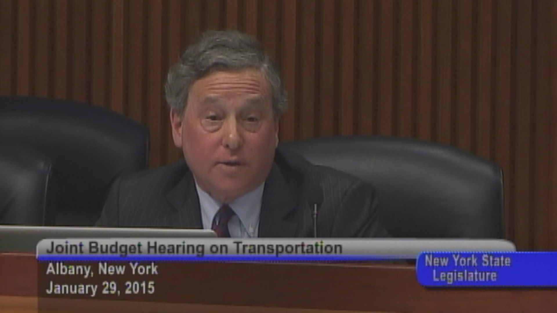 Otis grills MTA Chairman about Metro North service issues