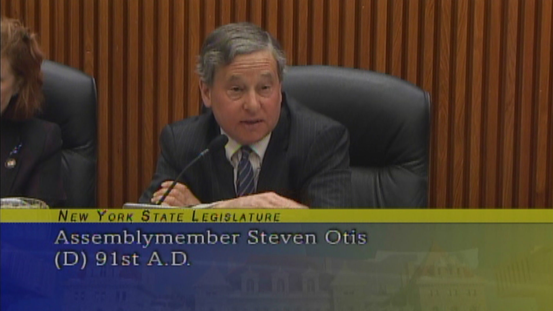 Assemblyman Otis questions acting SED Commissioner
