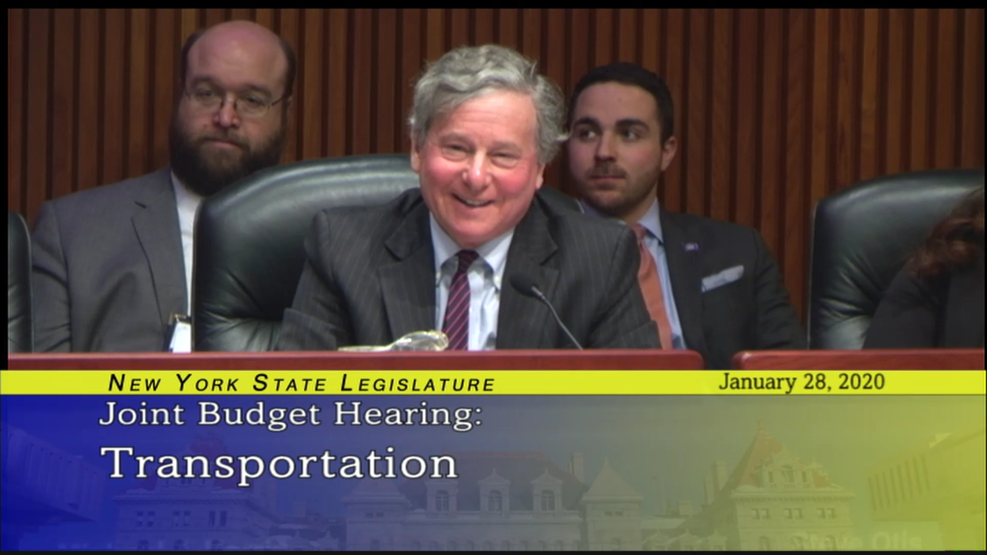 2020 Budget Hearing on Transportation/Last Mile Project