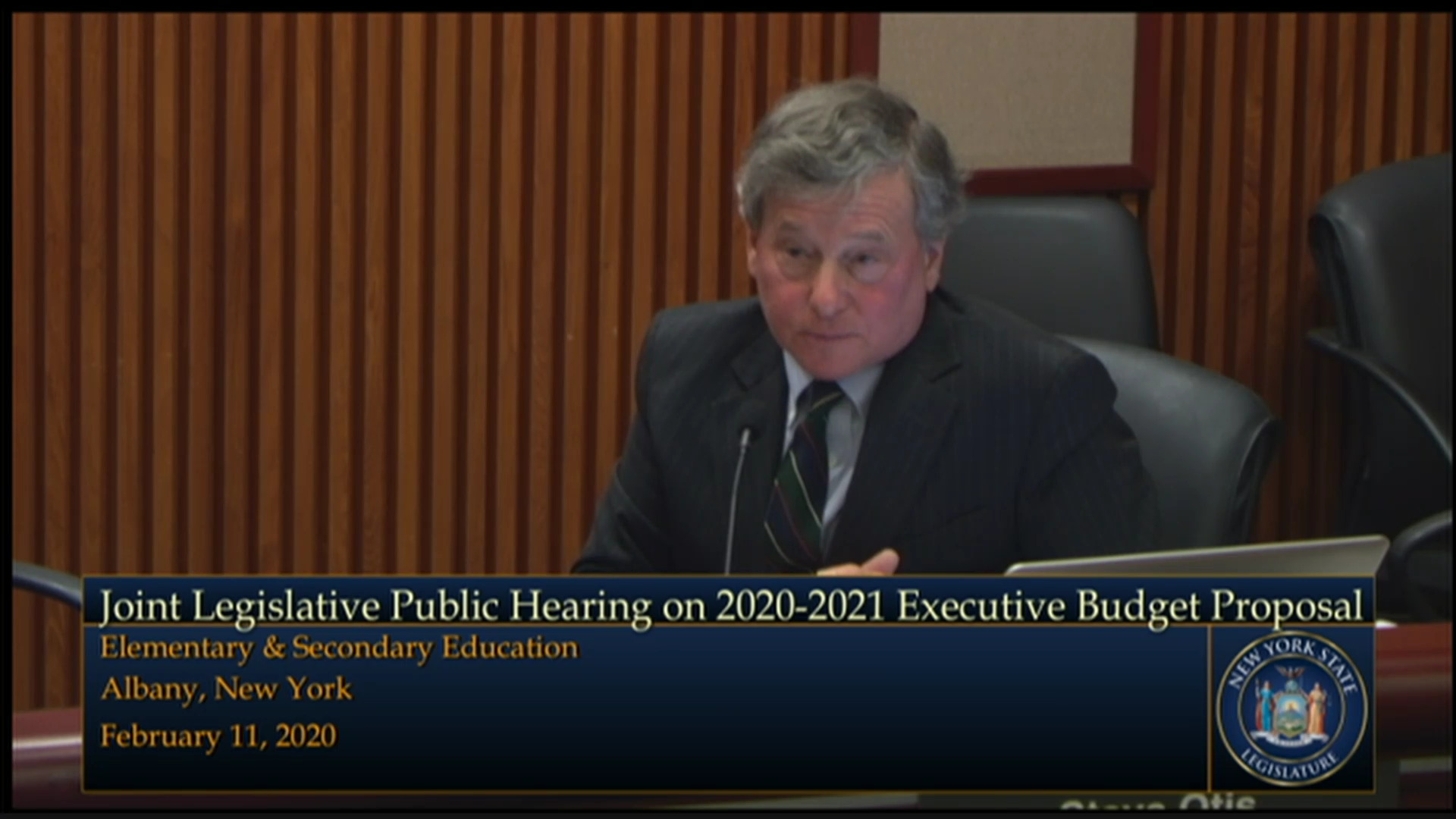 Budget Hearing on K-12 Education/Smart Schools Bond