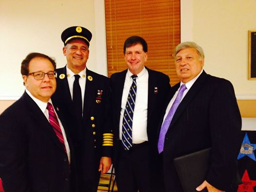 Elmsford 9/11 Memorial: Assemblyman Abinanti joined village leaders at the Elmsford 9/11 Memorial.