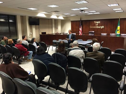 Greenburgh Town Hall: Assemblyman Abinanti held a town hall meeting at Greenburgh Town Hall.