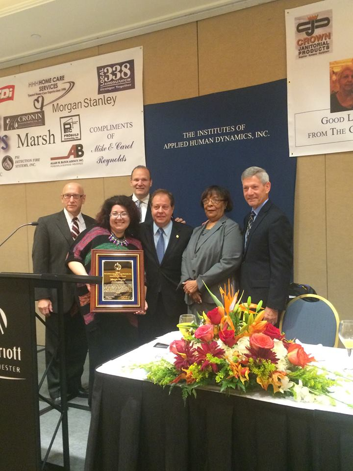 IAHD: Assemblyman Abinanti attended IAHD's 26th Annual Richard P. Biondi Corporate Recognition Awards Breakfast.
