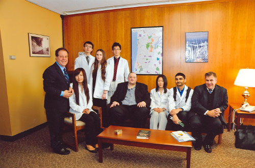 LIU Pharmacy students