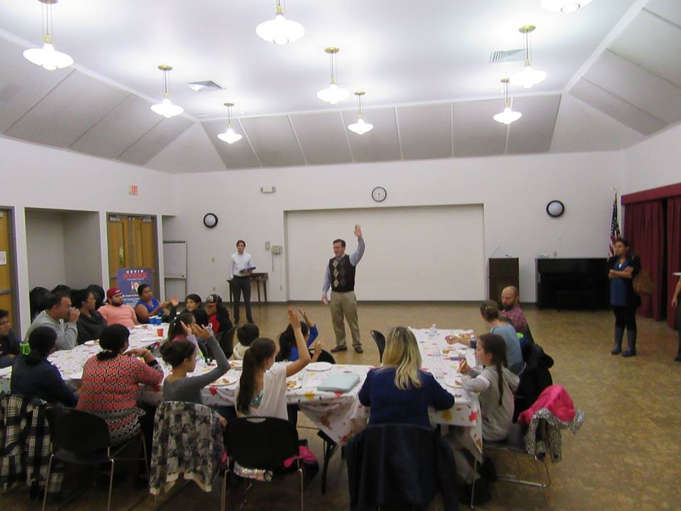 Assemblyman Kevin Byrne (R,C,I,Ref-Mahopac) hosted a pizza party to celebrate the participants of this year's Summer Reading Challenge at the Mahopac Public Library on Tuesday, October 24.<br />