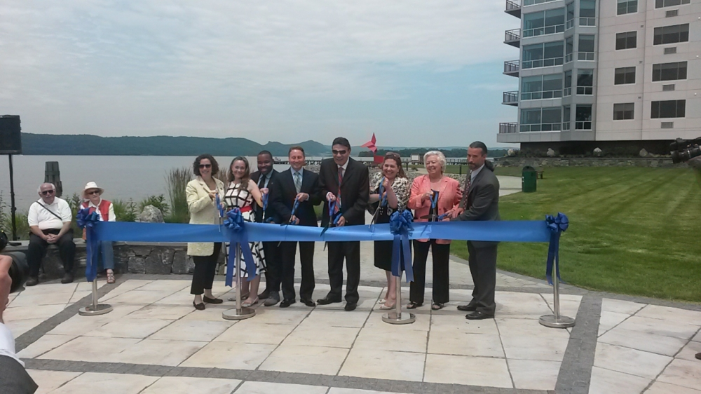 Sandy attended the ribbon cutting for the new Harbor Square apartments and Henry Gourdine Park in Ossining alongside other elected officials and the project's developer.<br />&nbsp;<br />&nbsp;