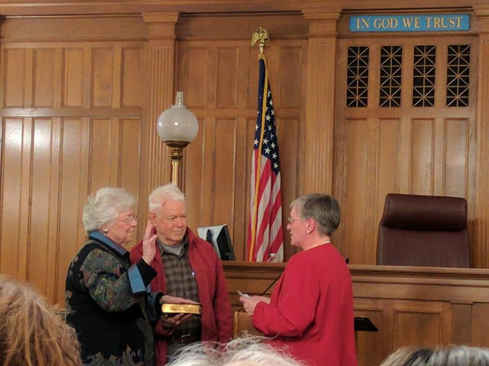 Sandy was sworn in in January 2017 at a ceremony in Putnam County.<br />&nbsp;