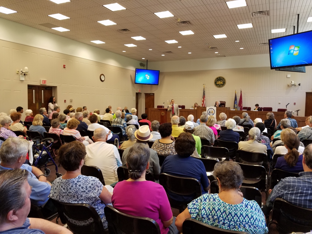 Sandy&rsquo;s own senior forum every July brings a full audience of active and interested seniors, as well as members of her constituency who are interested in issues that pertain to older New Yorkers.<br />&nbsp;