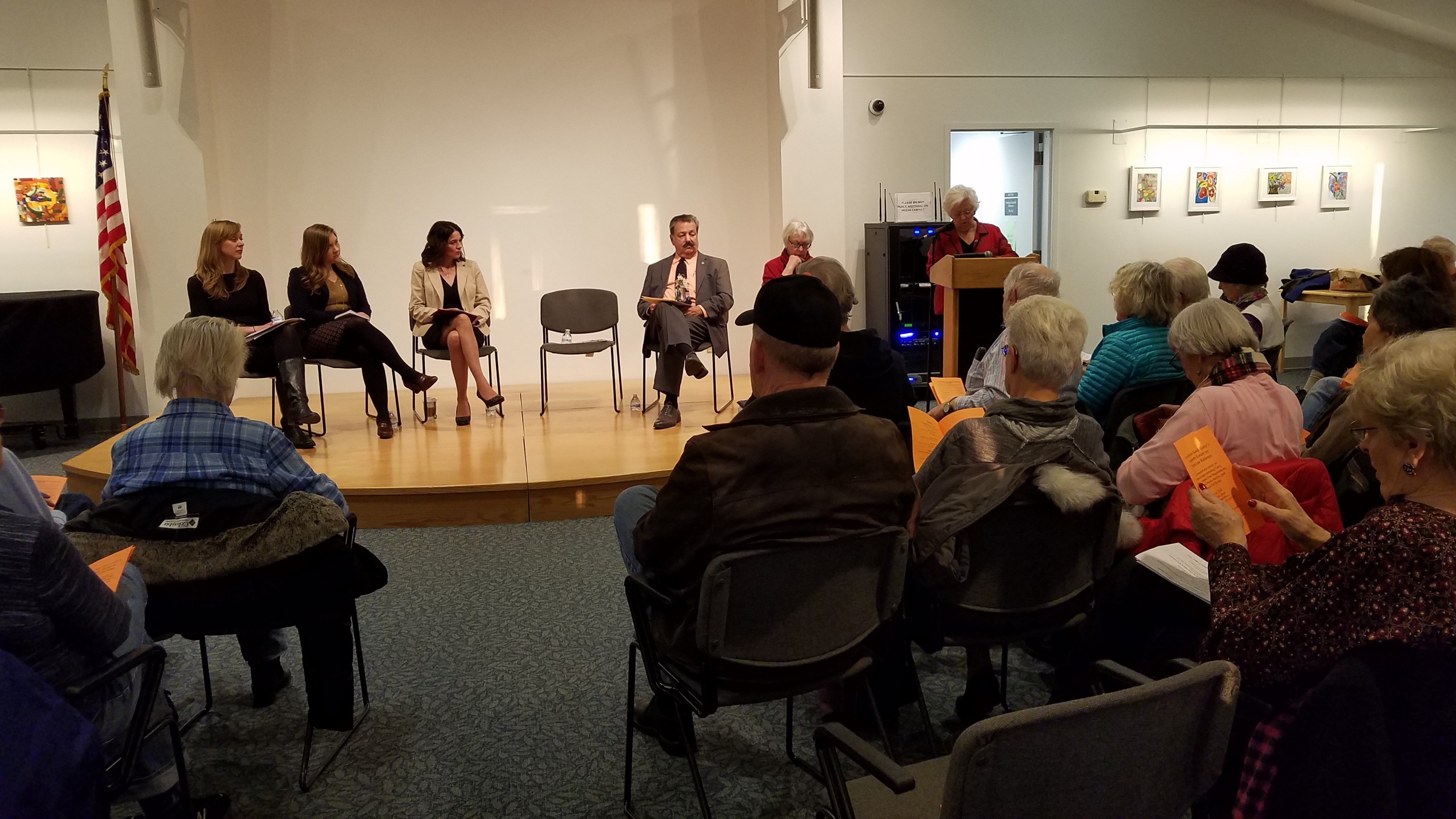 Amidst national scrutiny of voting laws and practices, Sandy held a public meeting to discuss various proposed and current methods of expanding voter access.<br />&nbsp;