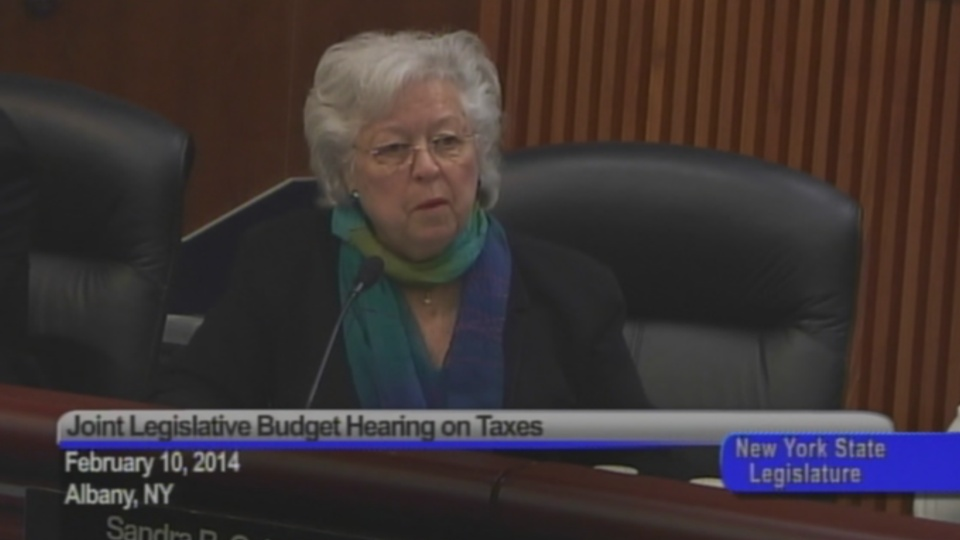 Budget Hearing on Taxes