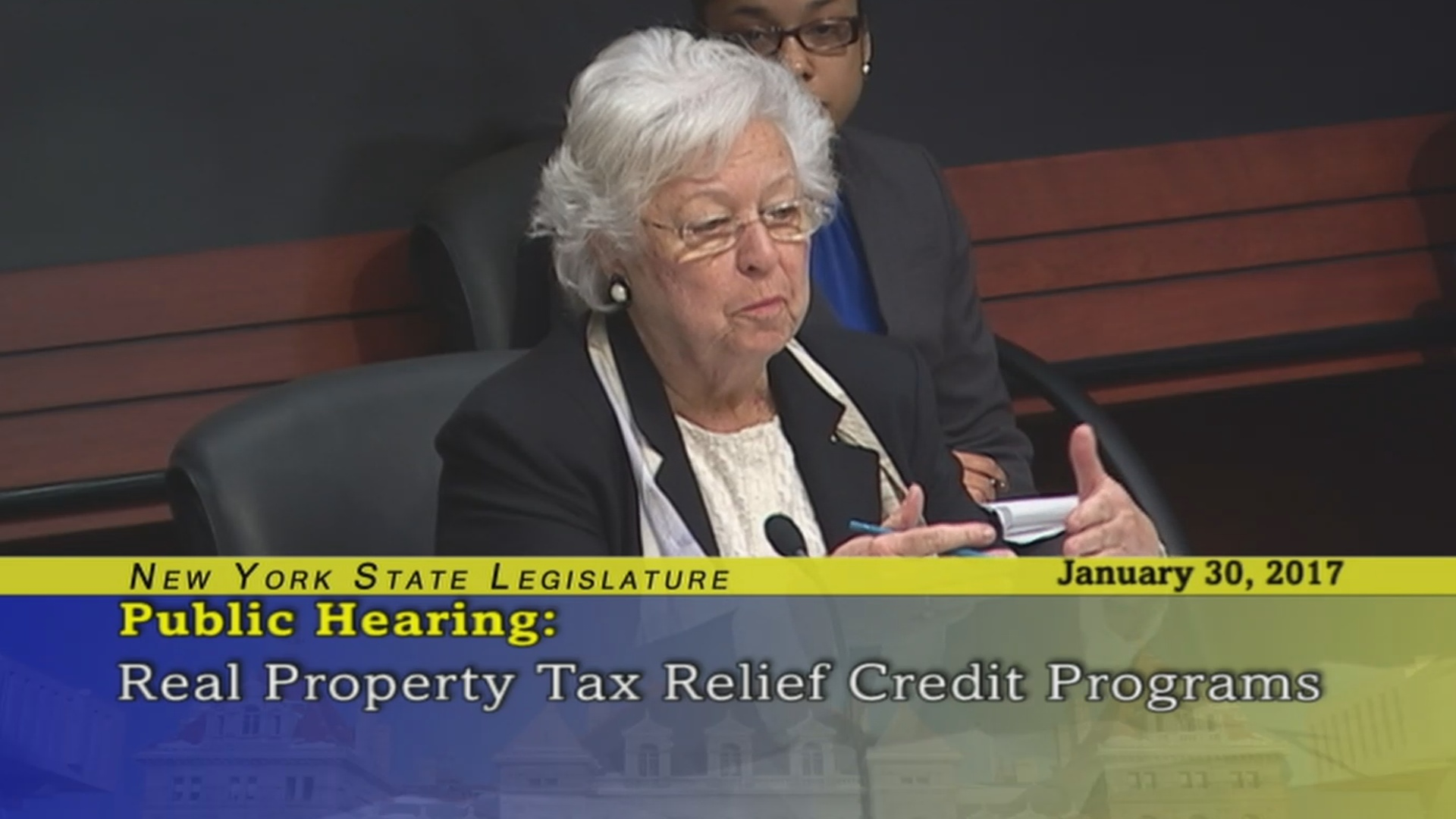 Real Property Taxation Public Hearing