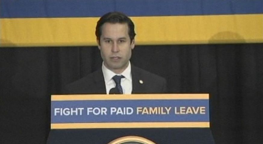 Paid Family Leave Rally