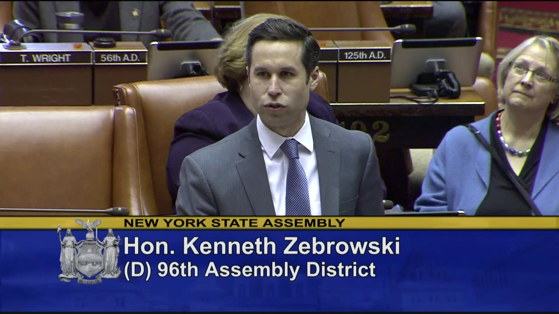 Zebrowski Introduces Rockland Cty Solid Waste Management Authority Members
