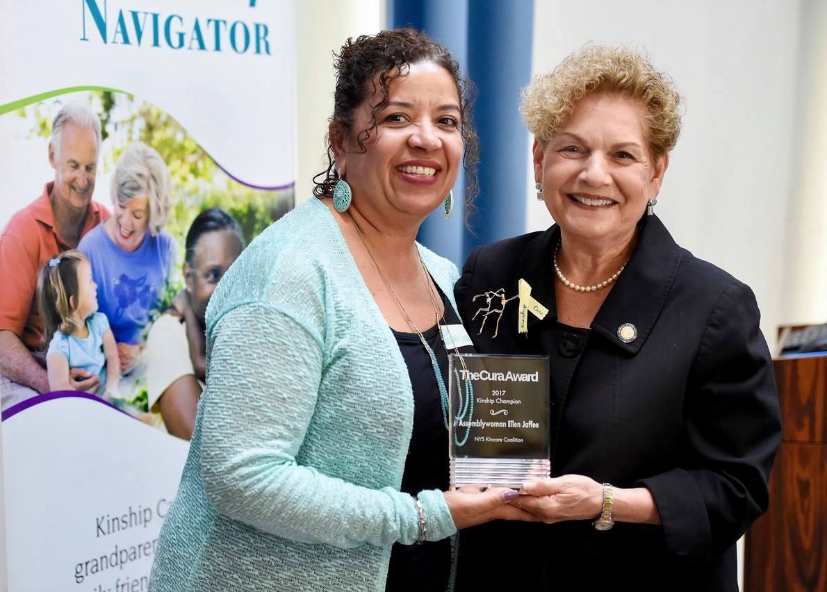 Assemblywoman Jaffee receives Kinship award