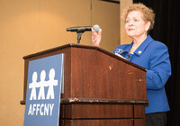 AFFCNY Conference- Ellen at the podium