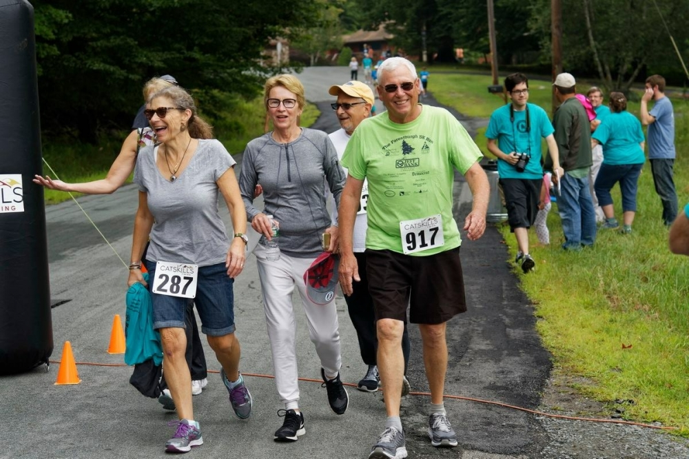 """At the Forestburgh 5K for Hospice of Orange and Sullivan counties""<br />"