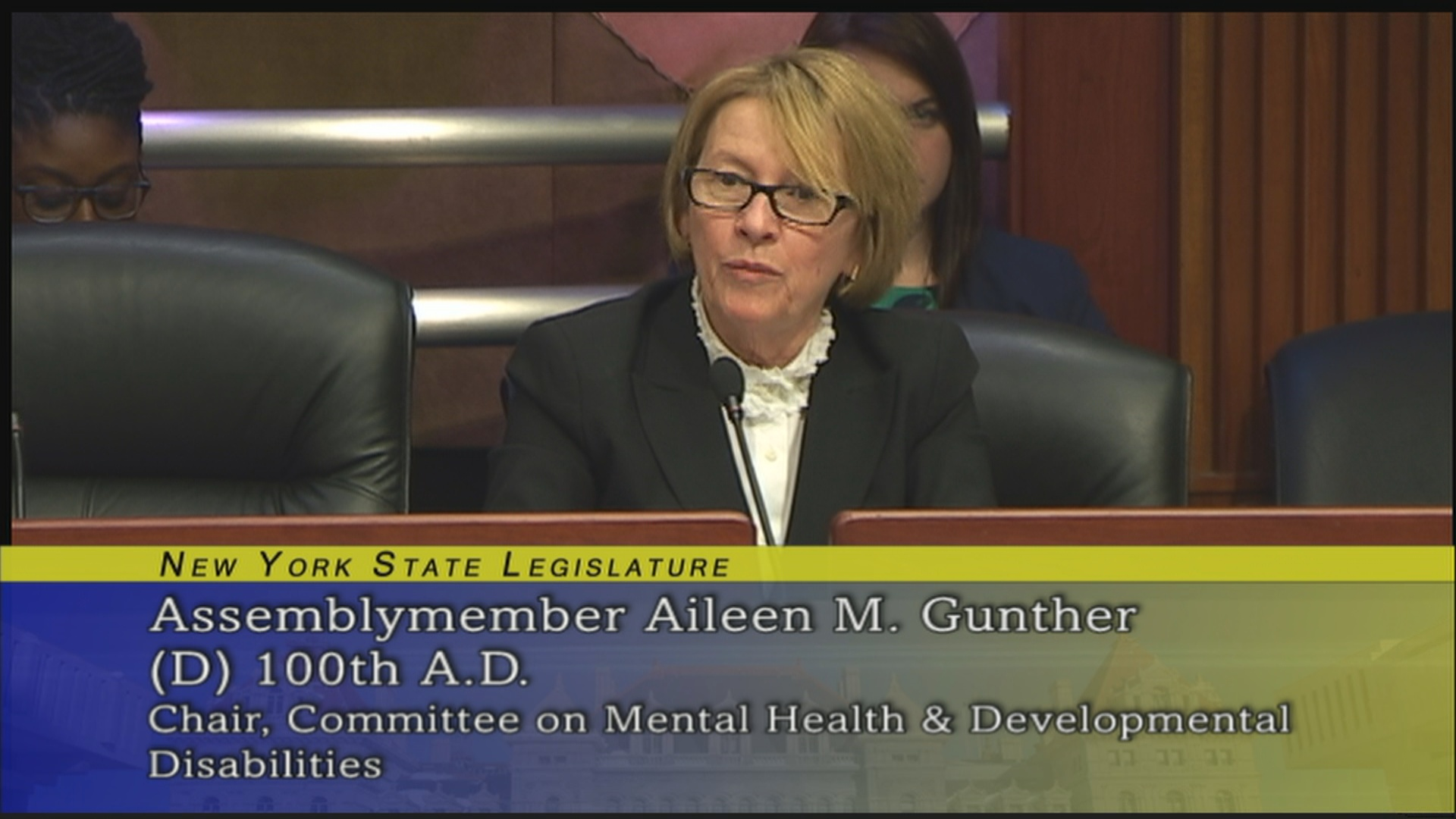 Gunther Concerned about Size of Mental-Health Caseloads