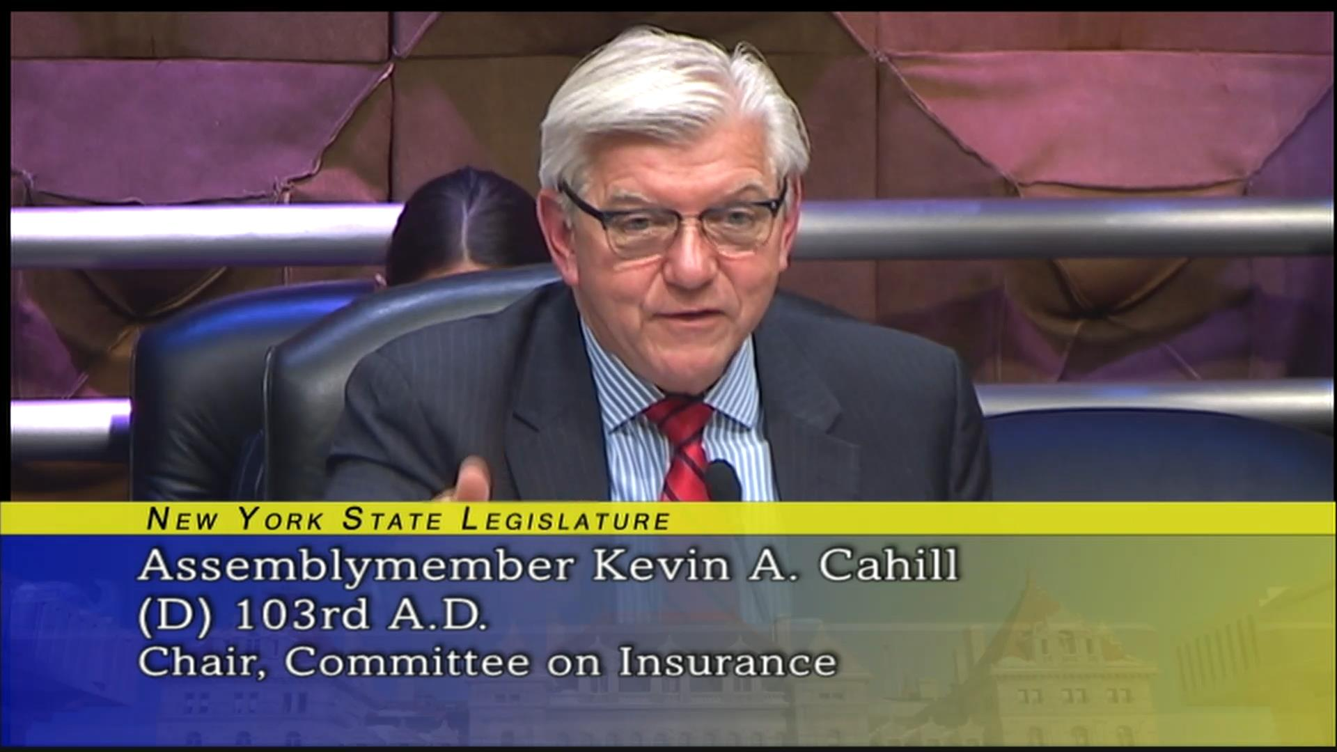 Cahill Inquires About Compensation of Title Insurance Fees