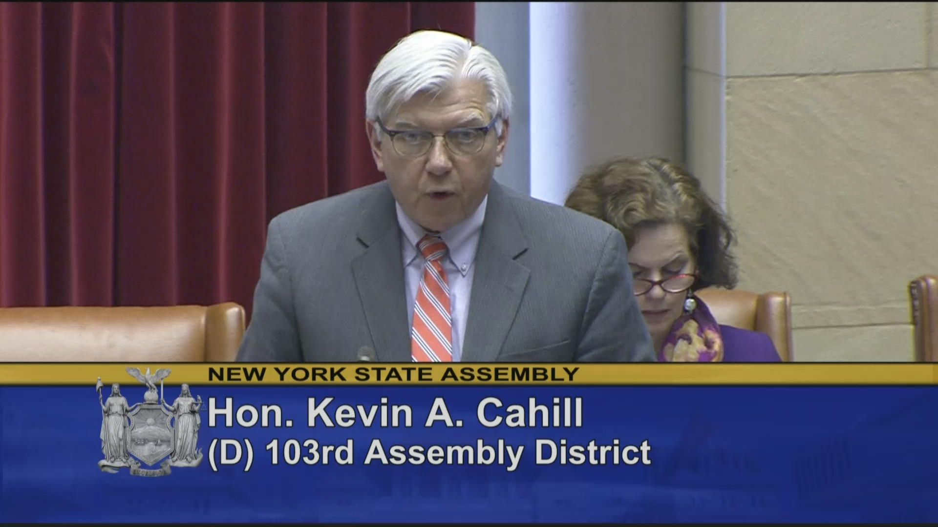 Cahill Discusses Assembly Budget Proposal