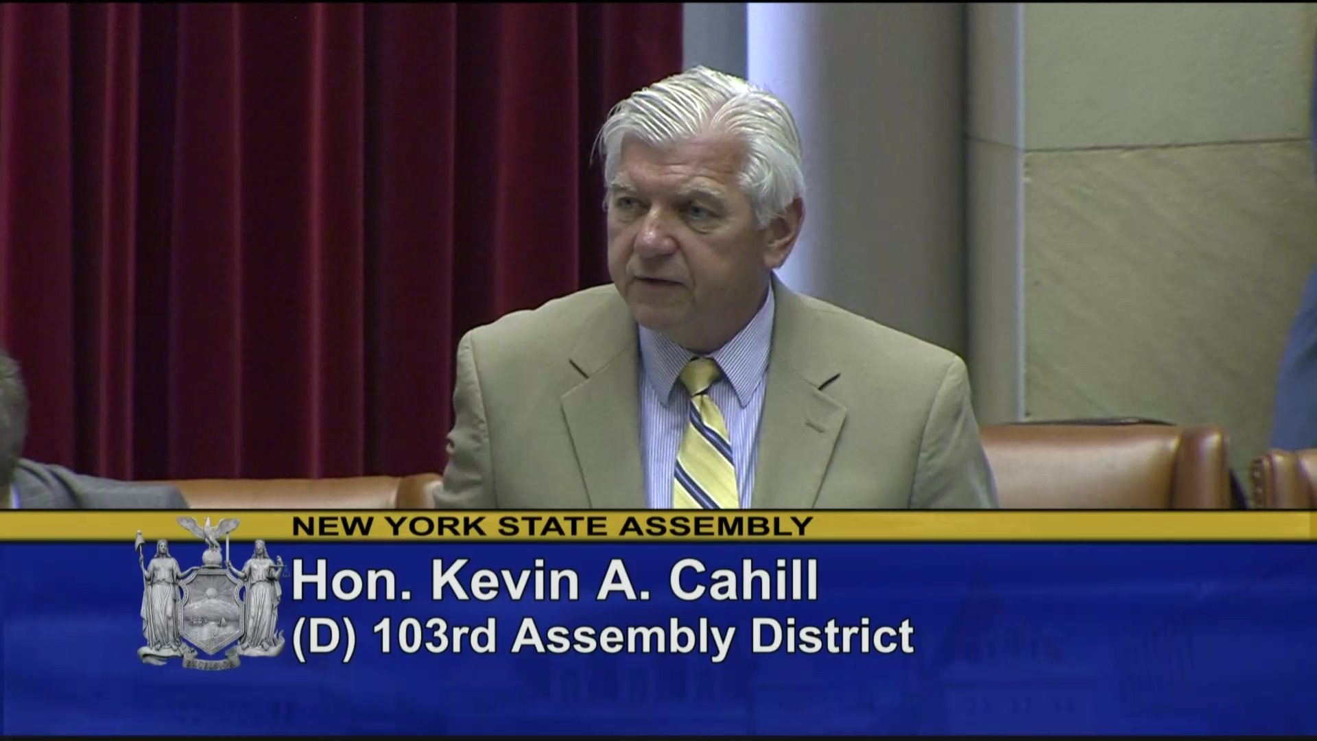 Cahill Speaks on Continuing Care Retirement Communities and Cybersecurity Bill