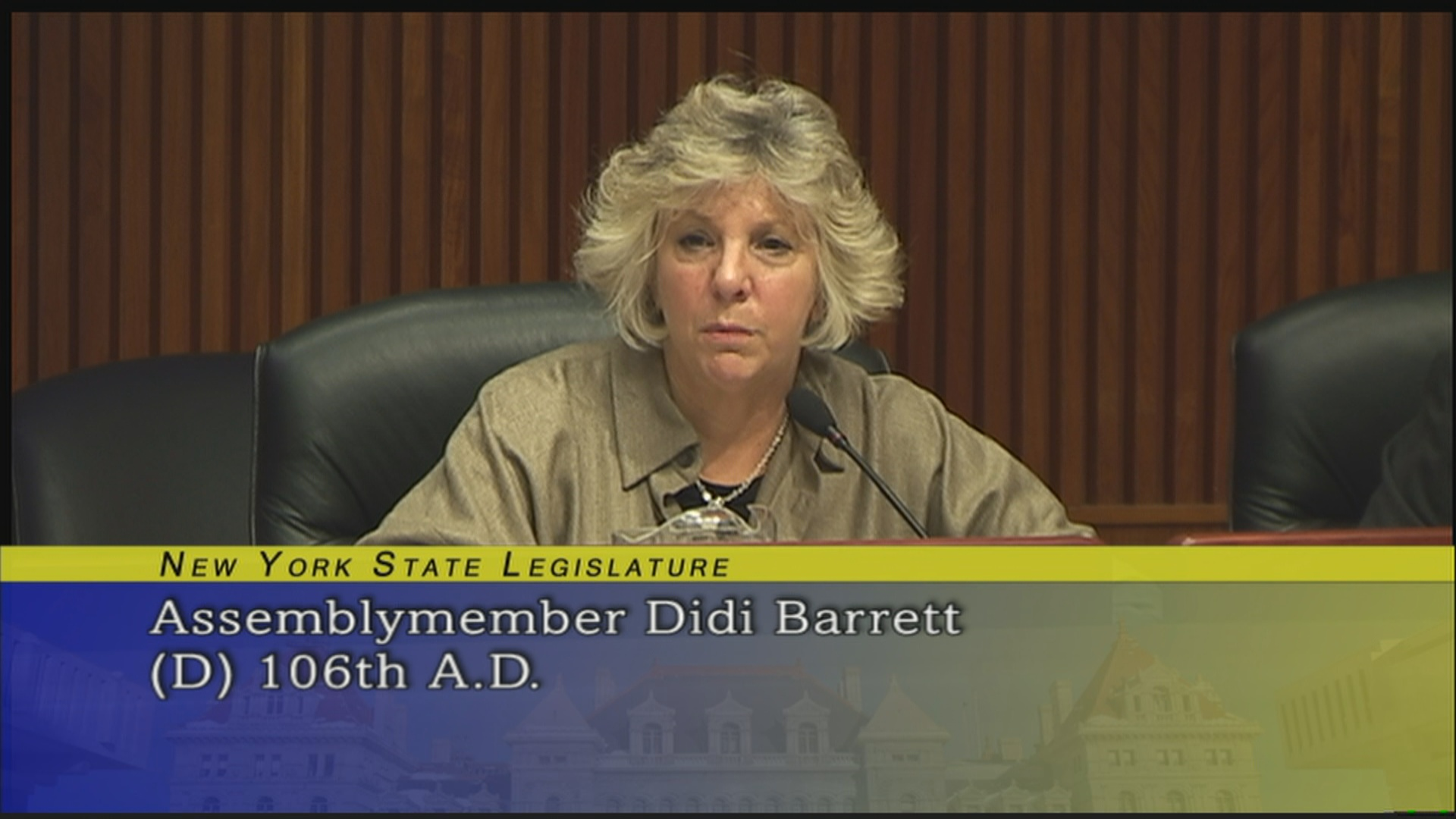 Barrett Discusses Priorities and Housing of Disability Services