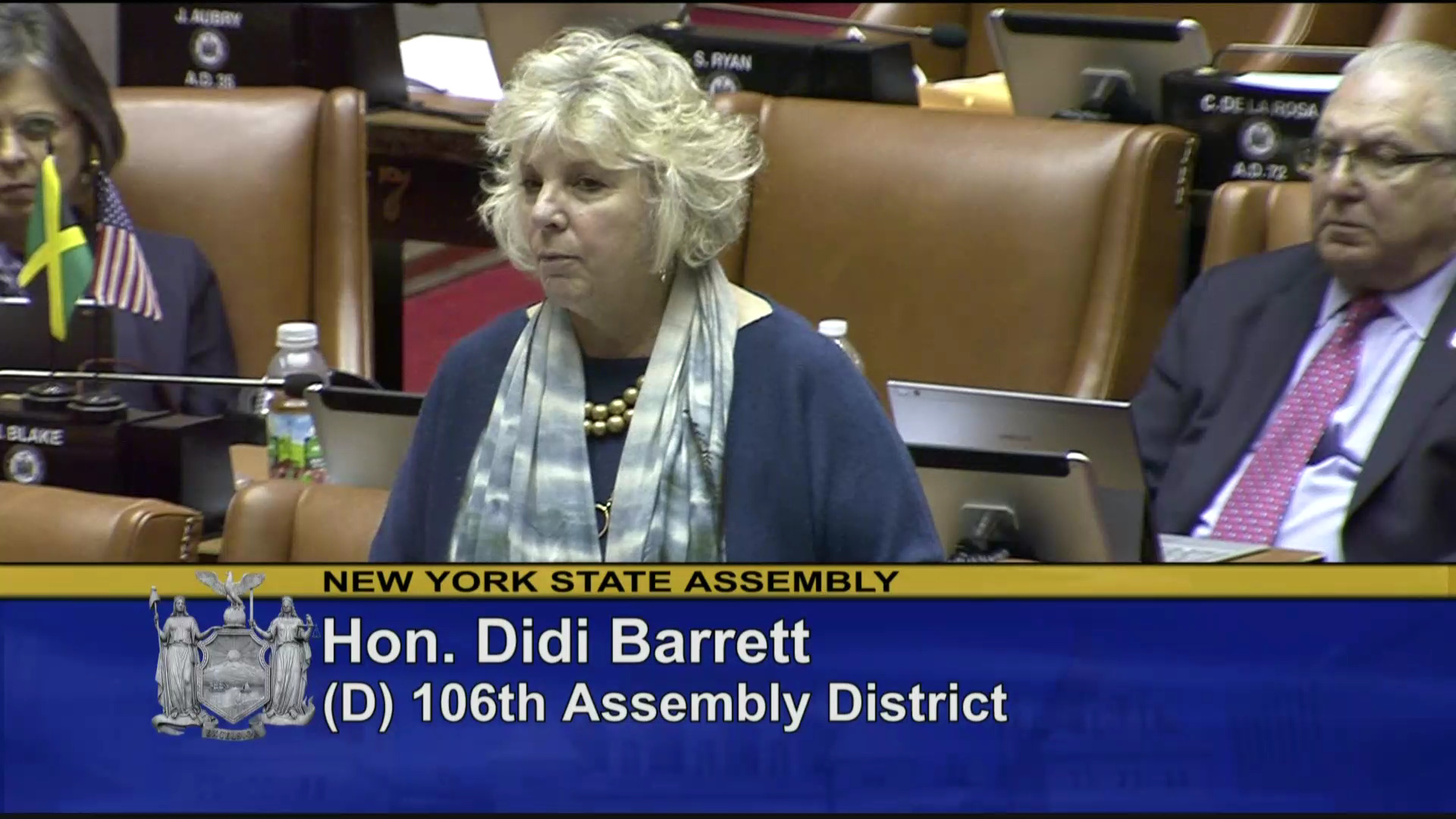 Barrett Fights for NY Veterans
