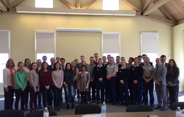Asssemblymember Steck had the pleasure of spending an afternoon speaking with members of the Colonie Youth Advisory Board made up of students from the North and South Colonie School Districts as well