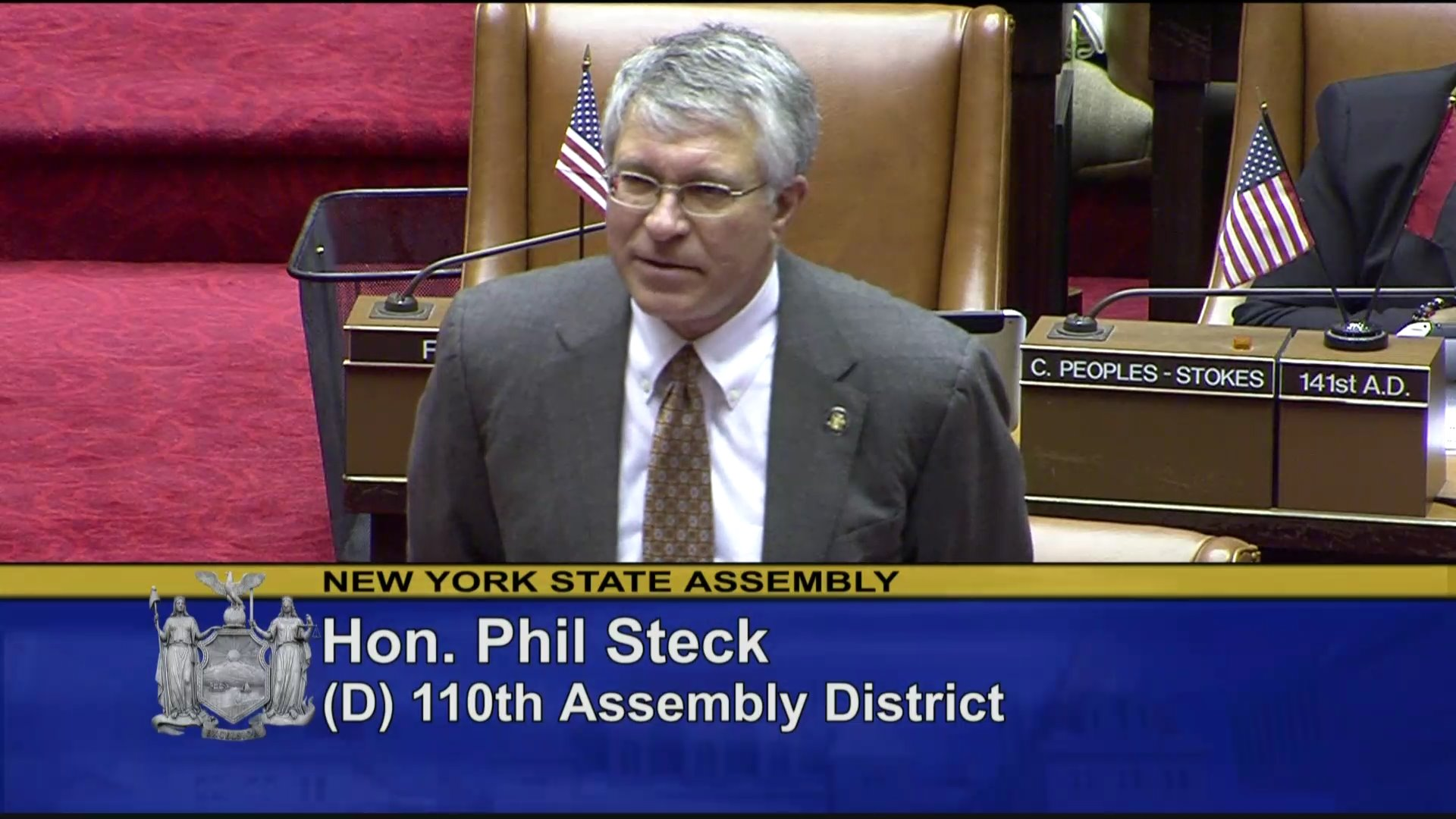 Steck Introduces Pastor Hamilton To The Assembly Chamber