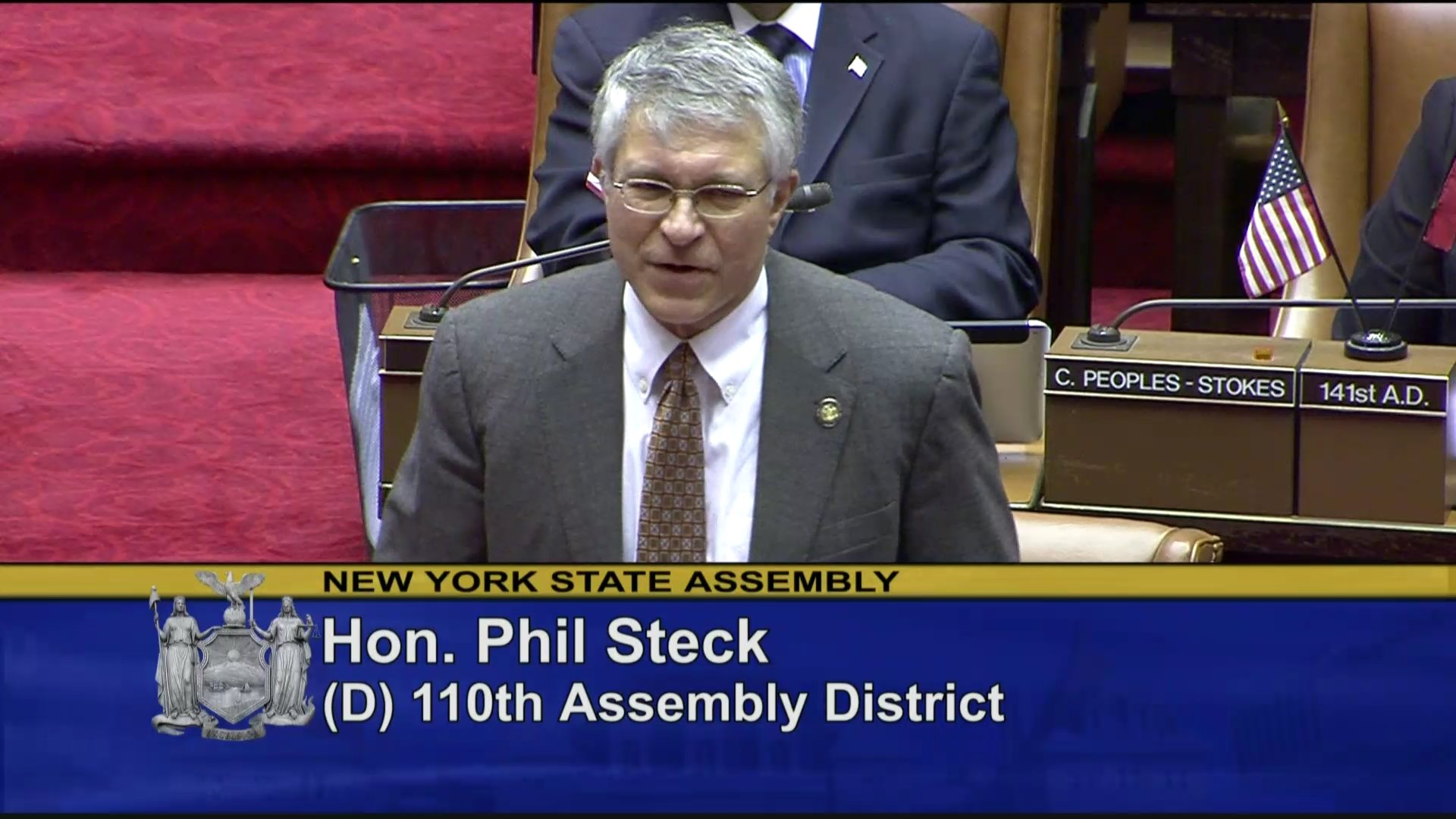 Steck Speaks on Authorization of Petroleum Gas Delivery in an Emergency