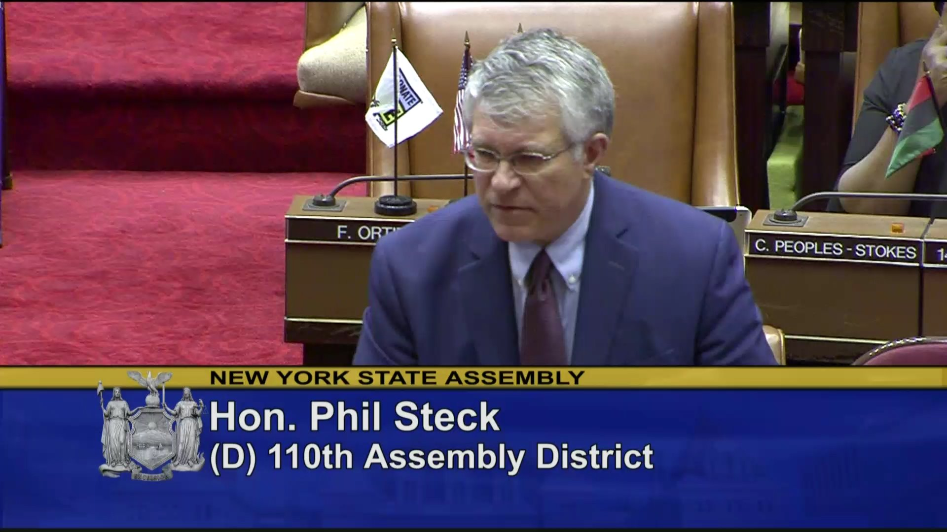 Steck Votes to Establish NY Health Act