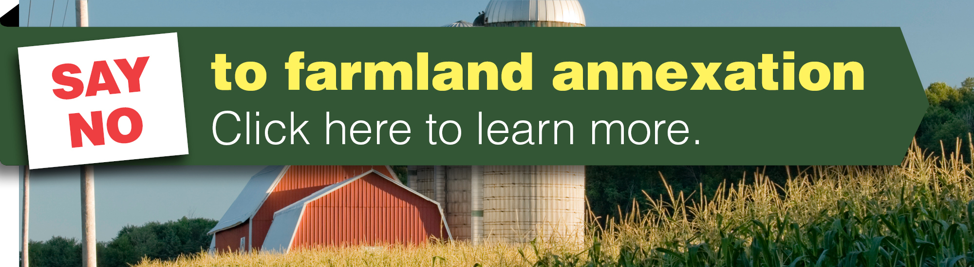 Say NO to Farmland Annexation