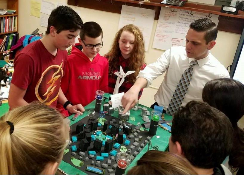 The Schalmont Middle School Future City Team is excited about engineering and improving our world! 1/19/17